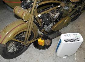 Garagen Entfeuchter Für Motorrad Und Auto