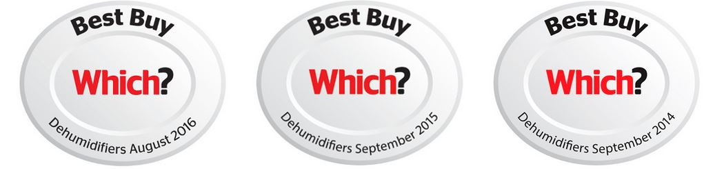 Which? Best Buy Award - Entfeuchter Testsieger 2014, 2015, 2016