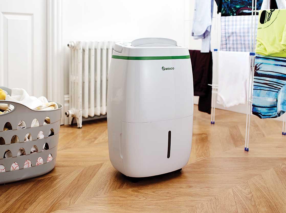 MEACO 20L Low Energy - Luftentfeuchter Für Wäschetrocknung