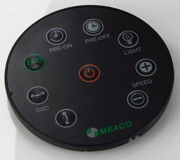 Fernbedienung des Ventilator Meaco Air360°