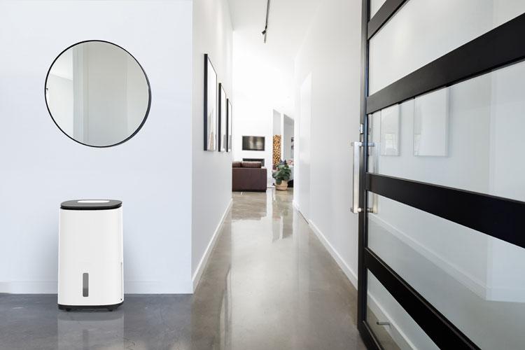 Das edle Design und die Luftreinigungsfunktion macht den Arete One ideal für den Dauereinsatz in Wohnungen.